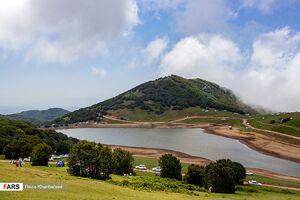 عکس/ دریاچهای بِکر و زیبا در اردبیل