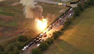 عکس/ گاف مهندسان انگلیسی حادثه ساز شد