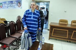 """عکس/ اولین جلسه دادگاه گروه """"جهانبانی"""""""