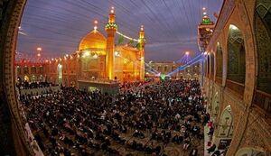 نجف اشرف امام علی در عید غدیر
