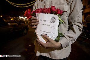 عکس/ پویش مردمی فقط به عشق علی(ع)