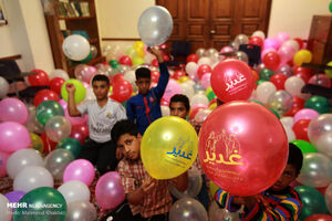 عکس/ جشن عید غدیر در جزیره کیش