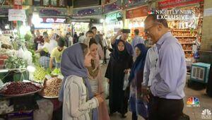 گزارش شبکه «ان.بی.سی» از تهران