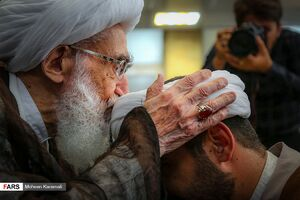 عمامه گذاری طلاب در« عید غدیر »