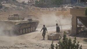 ورود نیروهای ارتش سوریه به محلههای شمالی «خان شیخون» / فرار تروریستها از مناطق اشغالی جنوب ادلب و شمال حماه + نقشه میدانی و عکس