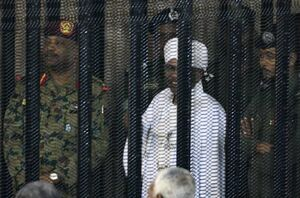 عکس/ محاکمه رئیس جمهور سابق سودان