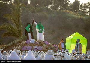 عکس/ بازسازی واقعه غدیر در گرگان