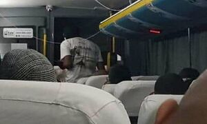 اولین تصویر از داخل اتوبوس گروگانها در برزیل