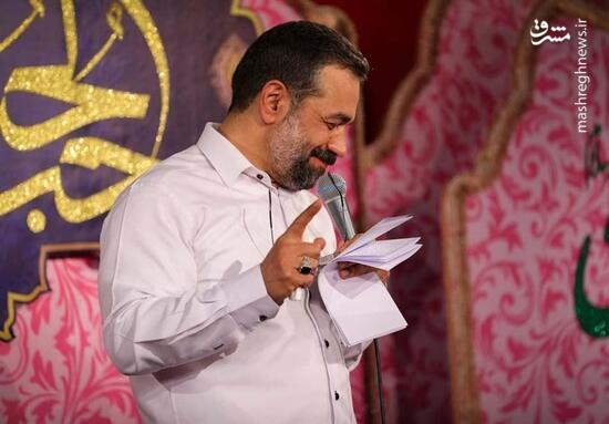 فیلم/ مولودی خوانی کریمی به مناسبت عید غدیر