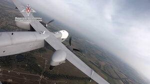 اولین پرواز غول بدون سرنشین روسیه