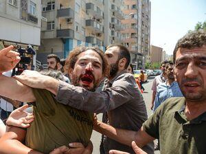 درگیری خونین کردها با پلیس ترکیه