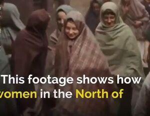 فیلم/ حجاب 100سال پیش زنان انگلیسی