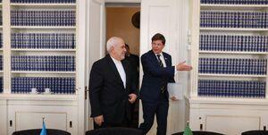 در دیدار ظریف با رئیس مجلس سوئد چه گذشت؟