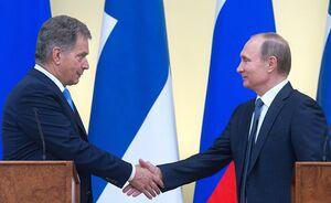 دیدار سائولی نینیسته فنلاند و پوتین روسیه