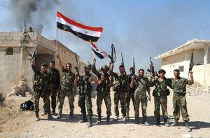 پیروزی بزرگ نیروهای ارتش سوریه در جنوب استان ادلب/ آزادی کامل شهر «خان شیخون» پس از ۵ سال اشغال/ تروریست ها در محاصره، آنکارا در شوک + نقشه میدانی و عکس
