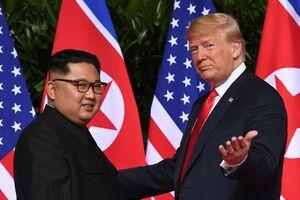 کیم جونگ اون کره شمالی دونالد ترامپ آمریکا