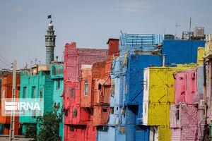 عکس/ رنگهای لاکچری بر تن خانههای رنجور
