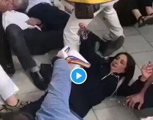اعتراض جلادهای هشتگساز به سفر ظریف +فیلم