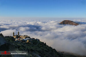 عکس/ صعود هیجانانگیز به آسمان ایران