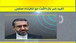 فیلم/ جزئیات بازداشت دو نماینده مجلس