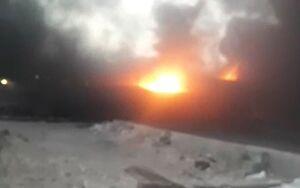 فیلم/ آتشسوزی در کارخانه فوم سرپلذهاب