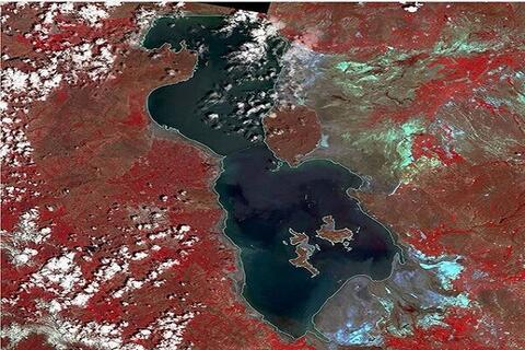 اروميه،درياچه،منطقه،سواحل،موسوي،زباله،زيست،محيط،آب