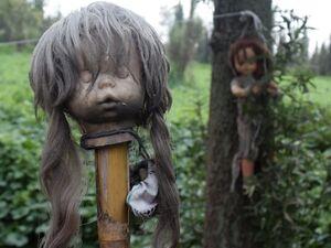عکس/ جزیره ترسناک عروسکها در مکزیک