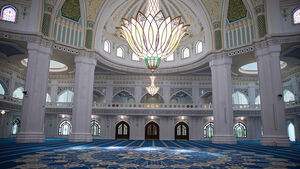 عکس/ افتتاح مسجد مسلمانان چچن روسیه