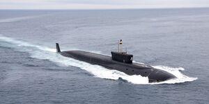 آزمایش موشک بالستیک توسط نیروی دریایی روسیه