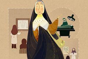 بیانات رهبرانقلاب درباره پزشکان زن +عکس