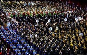 جشنواره موسیقی نظامی در مسکو