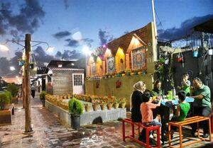 خیابان ناامنی که به پاتوق خانوادگی تبدیل شد +عکس