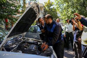 عکس/ بازداشت امدادخودروی کلاهبردار