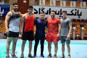 ترکیب تیم ملی کشتی آزاد ایران برای مسابقات جهانی