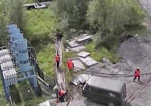 فیلم/ انفجار وحشتناک کابل برق فشار قوی