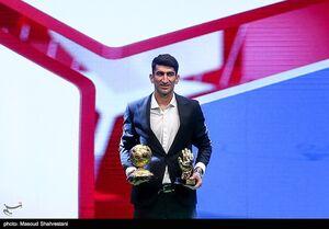 عکس/  مراسم برترین های فوتبال ایران در سال ۹۸-۹۷