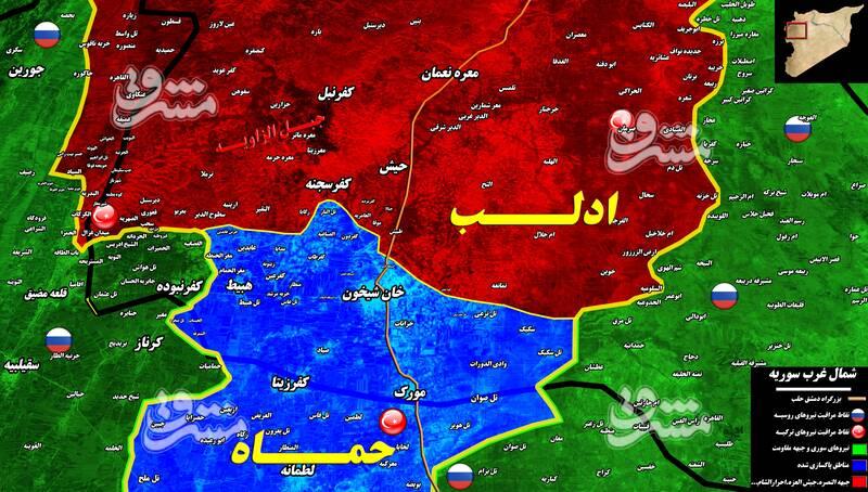 تیر خلاص به تروریستها در شمال استان حماه و جنوب استان ادلب با آزادی ۵۰۰ کیلومتر مربع از مساحت اشغالی