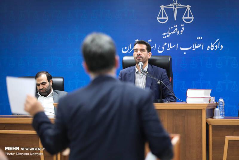 چهارمین جلسه دادگاه اخلالگران در نظام