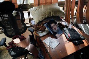 عکس/ خسارات پهپاد سقوط کرده در بیروت