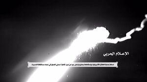 فیلم/ مواجهه موشکهای یمن و سامانه پاتریوت