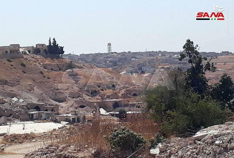 تصاویر جدید از شهرک حماه سوریه