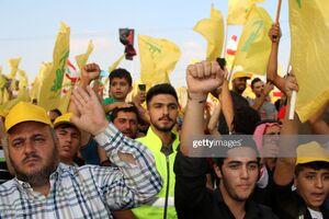 حضور پرشور مردم لبنان در مراسم سخنرانی امروز سید حسن نصرالله
