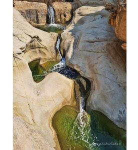عکس/ آبشاری بینظیر در هرمزگان