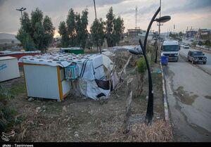 وضعیت سرپلذهاب پس از زلزله دو سال پیش +عکس