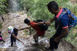 عکس/ سفر به آبشار بکر و دیدنی«چم چیت»