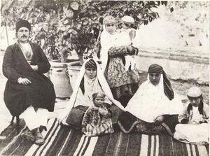 عکس/ خانواده ایرانی در زمان قاجار