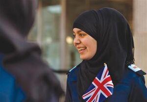 رشد جمعیت زنان مسلمان انگلیسی دو برابر مردان +فیلم