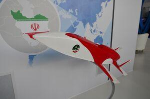 رونمایی از موشک کروز جدید ایرانی در روسیه+عکس