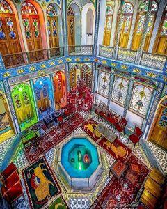 عکس/ معماری شگفتانگیز یک خانه در اصفهان