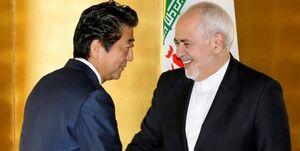 ظریف در دیدار با آبه: ایران به دنبال تنش نیست